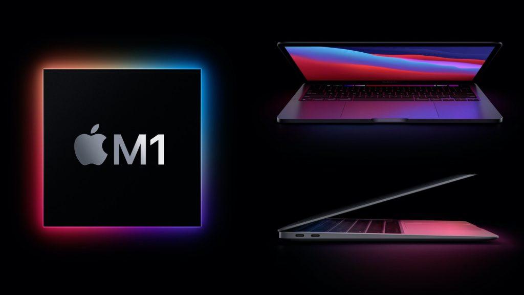 Chip M1 được Apple sử dụng trên Macbook Air và Macbook Pro