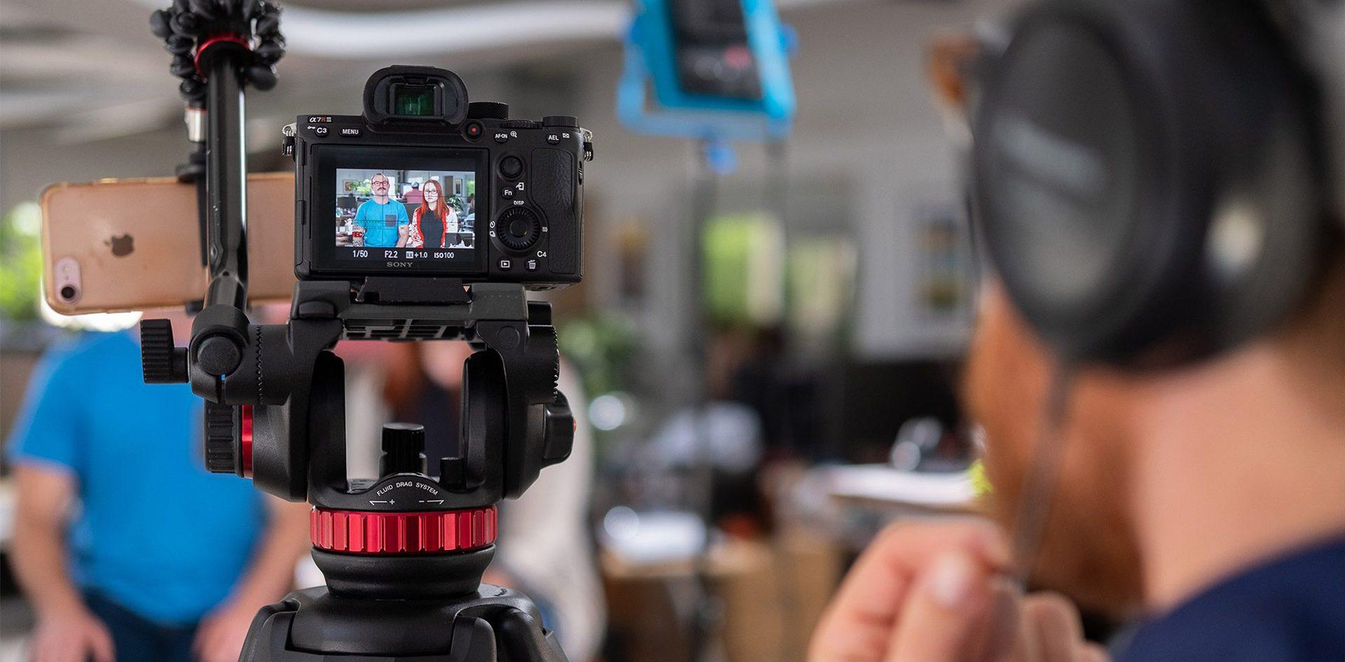 Top máy quay phục vụ cho nhu cầu livestream chuyên nghiệp