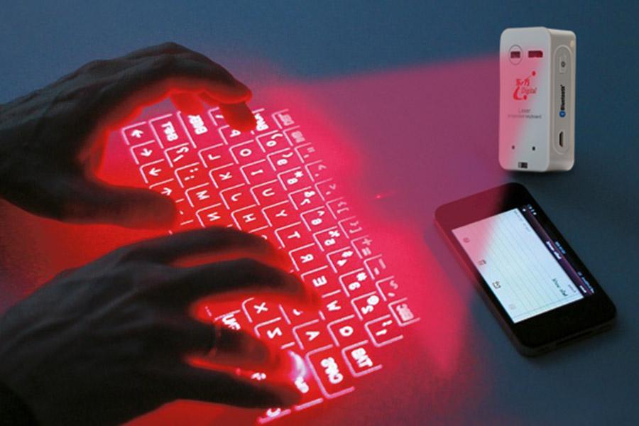 Bàn phím laser ảo 3D là gì? Nhìn thú vị nhưng dùng có thực sự tiện lợi?