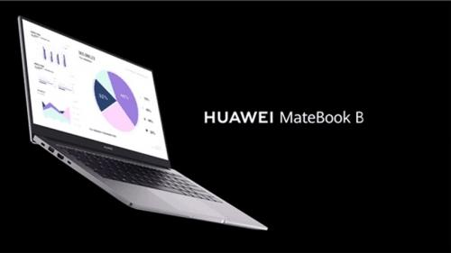 Huawei ra mắt laptop MateBook dòng B thế hệ mới, thiết kế mỏng nhẹ