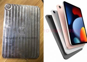 iPad Mini 6 lộ thiết kế nhỏ gọn nhưng đẹp 'lung linh' như iPad Air