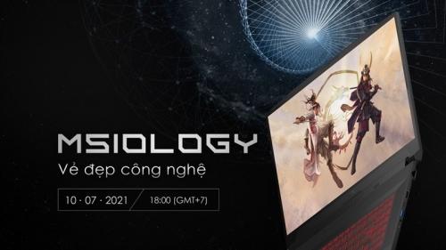 Link xem sự kiện MSIology: Vẻ Đẹp Công Nghệ của MSI – ra mắt loạt laptop chơi game mới