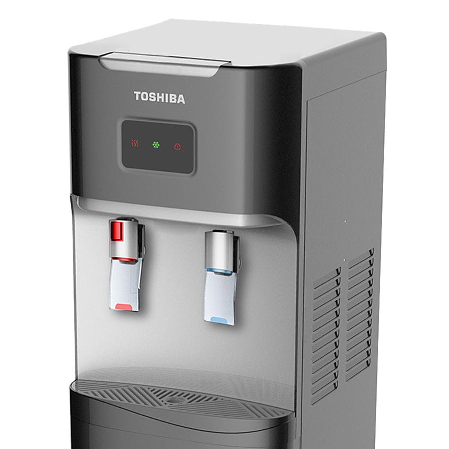 Cây nước nóng lạnh Toshiba RWF-W1664TV(W1) có kép chống quá nhiệt và khóa an toàn, đảm bảo an toàn khi sử dụng.