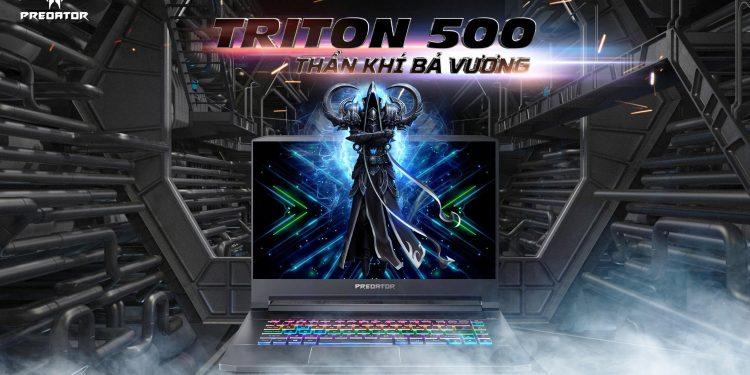 Siêu phẩm Laptop Gaming Acer Triton 500: mỏng, nhẹ cùng card RTX thế hệ mới nhất!