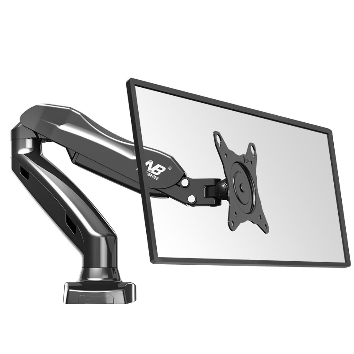 Giá treo màn hình máy tính 1 tay NB F80