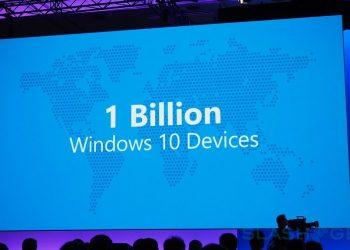 Microsoft cán mốc 1 tỷ thiết bị sử dụng Windows 10