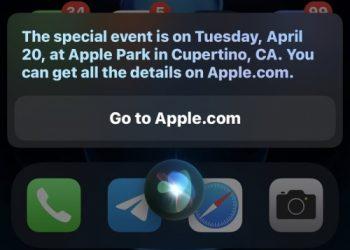 Siri tiết lộ sự kiện của Apple diễn ra vào ngày 20/4, có thể ra mắt iPad mới