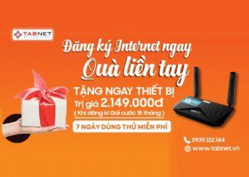 """Tabnet tung ra chương trình """"có điện là có internet không giới hạn dung lượng"""", chỉ 190.000đ/tháng"""