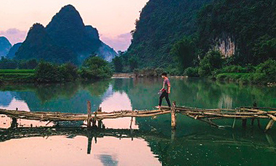 Khung cảnh nơi các travel blogger Việt 'mắc kẹt'