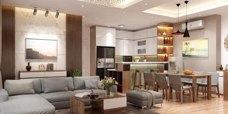 Tư vấn thiết kế nội thất nhà ở cấp 4 nhỏ xinh theo phong cách hiện đại tối giản chi phí