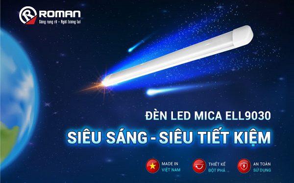 Đèn Led mica – giải pháp chiếu sáng cho không gian hiện đại