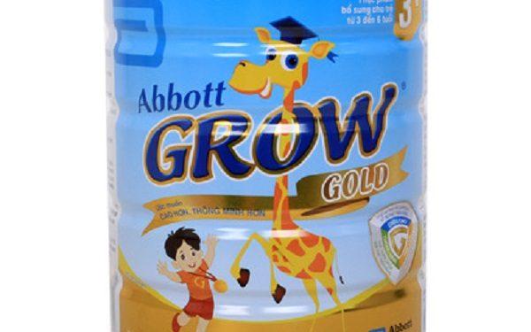 Giá sữa hươu cao cổ Abbott Grow cập nhật mới nhất 2017