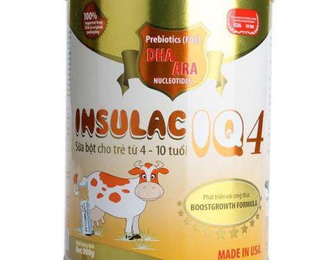 Sữa Insulac IQ – dòng sữa bột cao cấp dành cho trẻ em