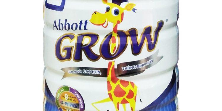 Sữa Abbott Grow 3 dùng có tốt không?